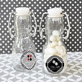 Vegas Lights Personalized Little Glass Bottles
