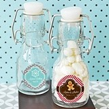 Happy Winter Personalized Little Glass Bottles
