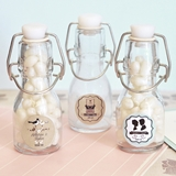 Shabby Chic Personalized Miniature Glass Bottles