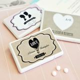 Shabby Chic Personalized Miniature Mint Boxes