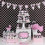 Pink Baby Shower Mod Party Kit (Non-Personalized)