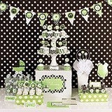 Green Baby Shower Mod Party Kit (Non-Personalized)