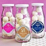 Choose Your Theme Personalized Mini Milk Bottles