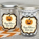 Personalized Classic Halloween Miniature Mason Jars