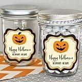 Personalized Classic Halloween Miniature Mason Jars