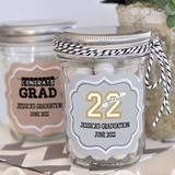 Personalized Miniature Mason Jars in Celebration of Graduation