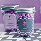 Personalized Miniature Mason Jars for Children's Birthday Parties