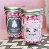 Outstanding Personalized Miniature Mason Jars