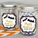 Personalized Spooky Halloween Miniature Mason Jars