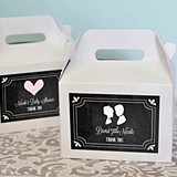 Chalkboard Motif Personalized Mini Gable Boxes (Set of 12)
