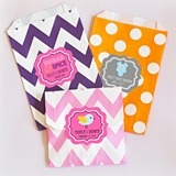 Event Blossom Personalized Baby Shower Goody Bags (Set of 12)