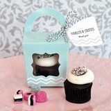 Adorable Tote-Bag-Shaped Cupcake Boxes (Set of 12)