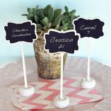 Chalk It Up To Love! Markable Stand-Up Buffet Markers/Placecards
