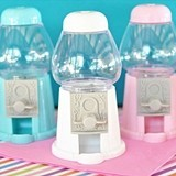 Event Blossom Mini Gumball Machine Place Card Holders