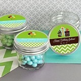 Adorable Personalized Birthday Party Small 4 Ounce Mason Jars