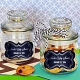 Personalized Chalkboard Baby Shower Mini Cookie Jars