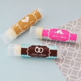 Event Blossom Personalized MOD Theme Silhouette Lip Balm Tubes