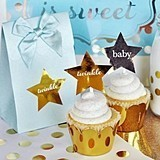 Personalized Metallic Foil Star Stickers