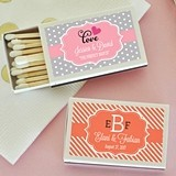 Event Blossom Choose Your Theme Personalized Match Boxes (Set of 50)