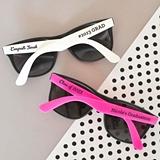 Event Blossom Personalized Wayfarer-Replica Graduation Sunglasses