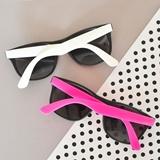 Event Blossom Blank Wayfarer-Replica Rubberized Sunglasses (2 Colors)
