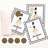 "Event Blossom ""Hello Beautiful"" Scratch-Off Cards (Set of 4)"