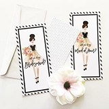 Will You Be My Bridesmaid/MOH? Scratch-Off Cards (Set of 4)