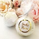 Event Blossom Personalizable Custom Bath Bomb Foil Favors