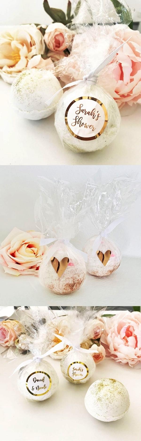 Event Blossom Personalizable Custom Bath Bomb Foil Favors
