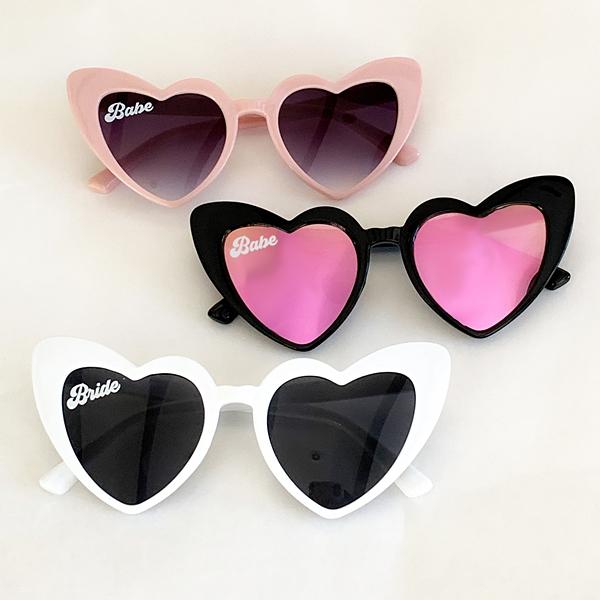Event Blossom Retro Design Cat-Eye Heart-Shaped Sunglasses (3 Colors)