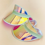 Event Blossom Personalizable Holographic Visor (Bride/Wifey/Babe/Name)