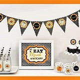 Classic Halloween Decorations Party Kit (Non-Personalized)
