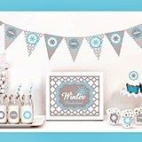 Winter Wonderland Party Decorations Kit (Non-Personalized)