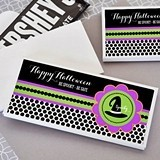 Personalized Spooky Halloween Candy Wrapper Covers