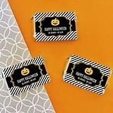 Personalized Classic Halloween Mini Candy Wrapper Covers