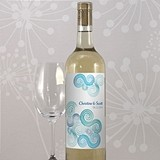 "Personalized ""Sea Breeze"" Wine Bottle Labels (Set of 8)"