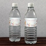 Soaring Hearts Aplenty Personalized Water Bottle Labels (Set of 10)