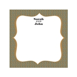 Weddingstar Personalized Well Wishing Card with Instructional Sign