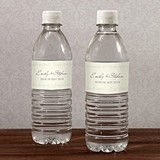 Horse Country Theme Personalized Water Bottle Labels (Set of 10)