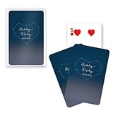 Unique Custom Playing Card Favors - Starry Night Design
