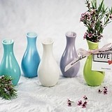 Miniature Decorator Porcelain Favor Vases (5 Colors) (Set of 6)