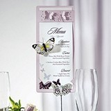 Laser Expressions Butterfly-Motif Stationery Caddy (Set of 3)