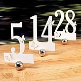Laser Expressions Die-Cut Butterfly-Motif Table Number Set (Set of 12)