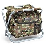 Weddingstar Personalizable Portable Cooler Chair (Camouflage)