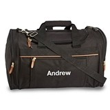Weddingstar Personalizable Weekender Bag w/ Metal Hardware (2 Colors)
