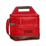 Weddingstar Personalized Loden Cooler Bag - Red