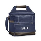 Weddingstar Personalized Loden Cooler Bag - Blue