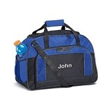 Weddingstar Personalizable Sports/Weekender Bag - Blue