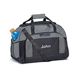 Weddingstar Personalizable Sports/Weekender Bag - Gray