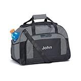 Weddingstar Personalizable Sports/Weekender Bag - Gray